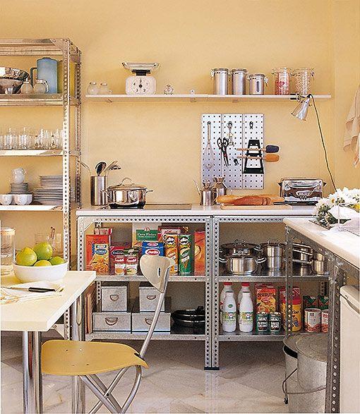 cocina-estanterias-mecalux-kitchen-furniture | interior | Pinterest ...