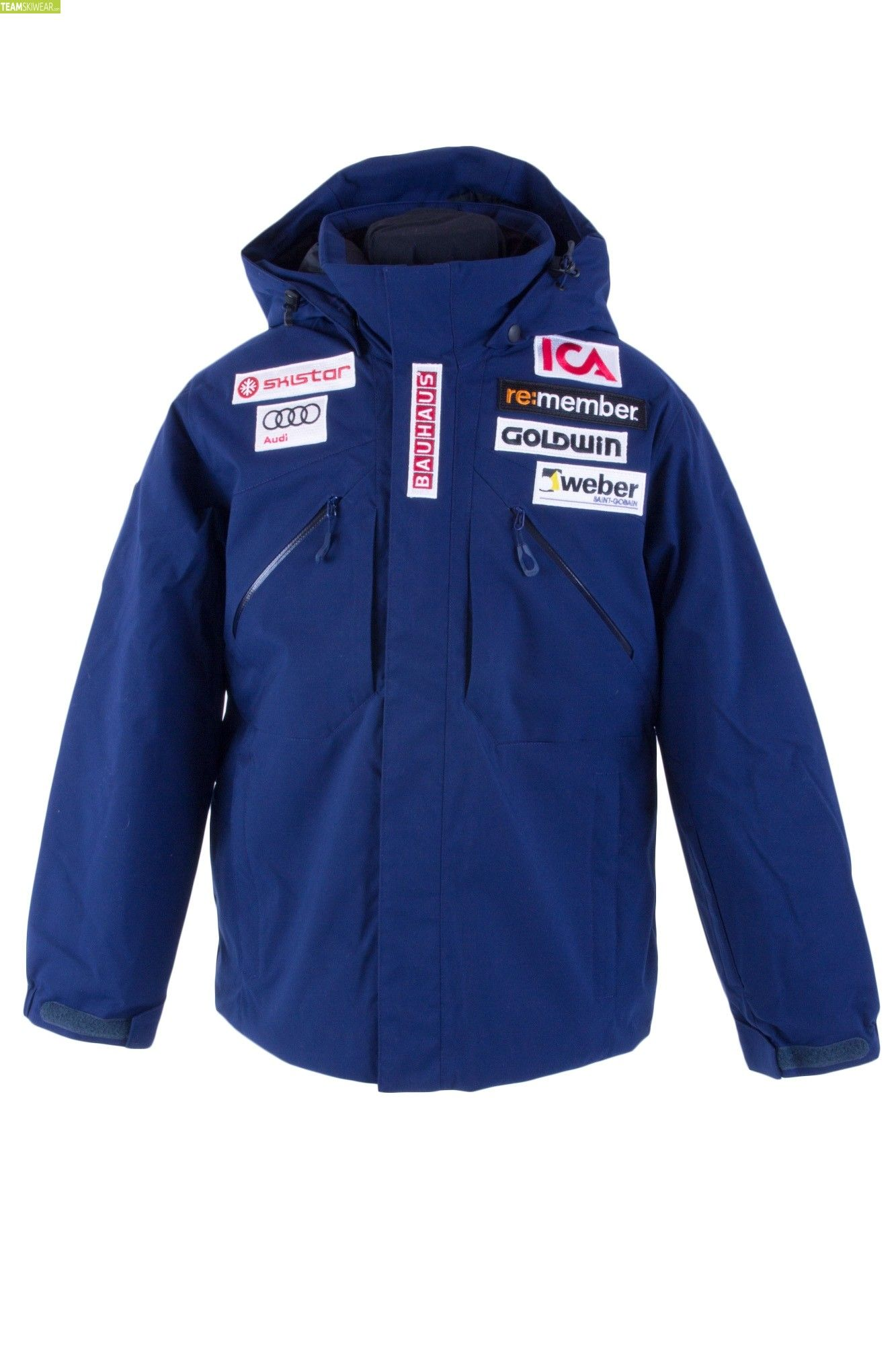 Goldwin Junior Sweden Alpine Team Jacket Navy Blue