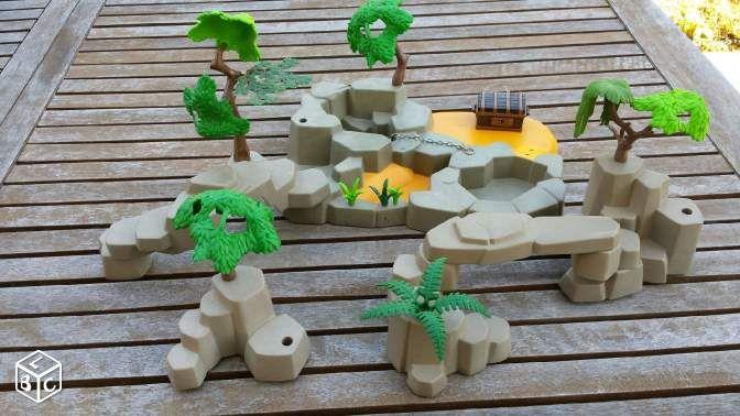 ile aux pirates playmobil jeux jouets haute garonne. Black Bedroom Furniture Sets. Home Design Ideas