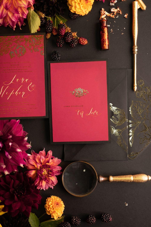 WEDDING INVITATIONS romantic