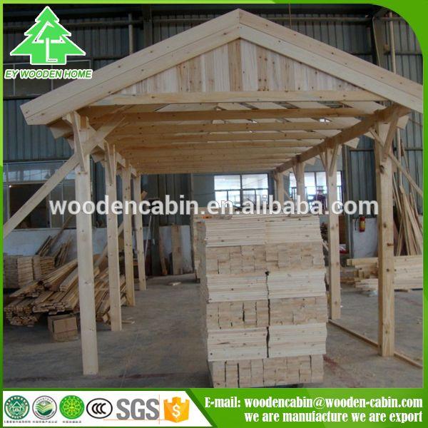 Alternatives Plans For The Carport Designs Wooden Carport: Cheap Price Prefab Wooden Carport/2 Car Wooden Carport For