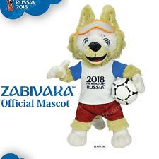 2018 Fifa World Cup Russia Plush Mascot Zabivaka 25 Cm Official Licensed Wolf 8887856108201 Ebay Mascot Fifa World Cup Fifa
