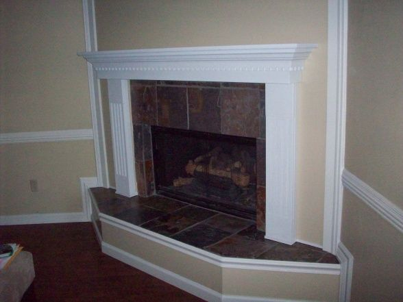 Refacing Brick Fireplace Fireplace Make Over Refacing A