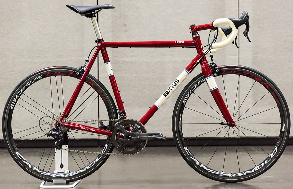 first look bixxis prima steel road bike