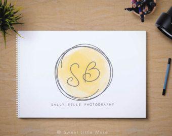 Premade Logo Design Logo del cerchio di AutumnLanePaperie su Etsy