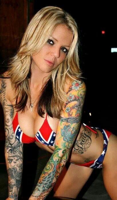 Small Tattooed White Girl