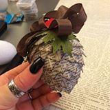 Bisschen kreativ sein ❤️ #stampinup #lovemyjob #stempelwiese #pinecone