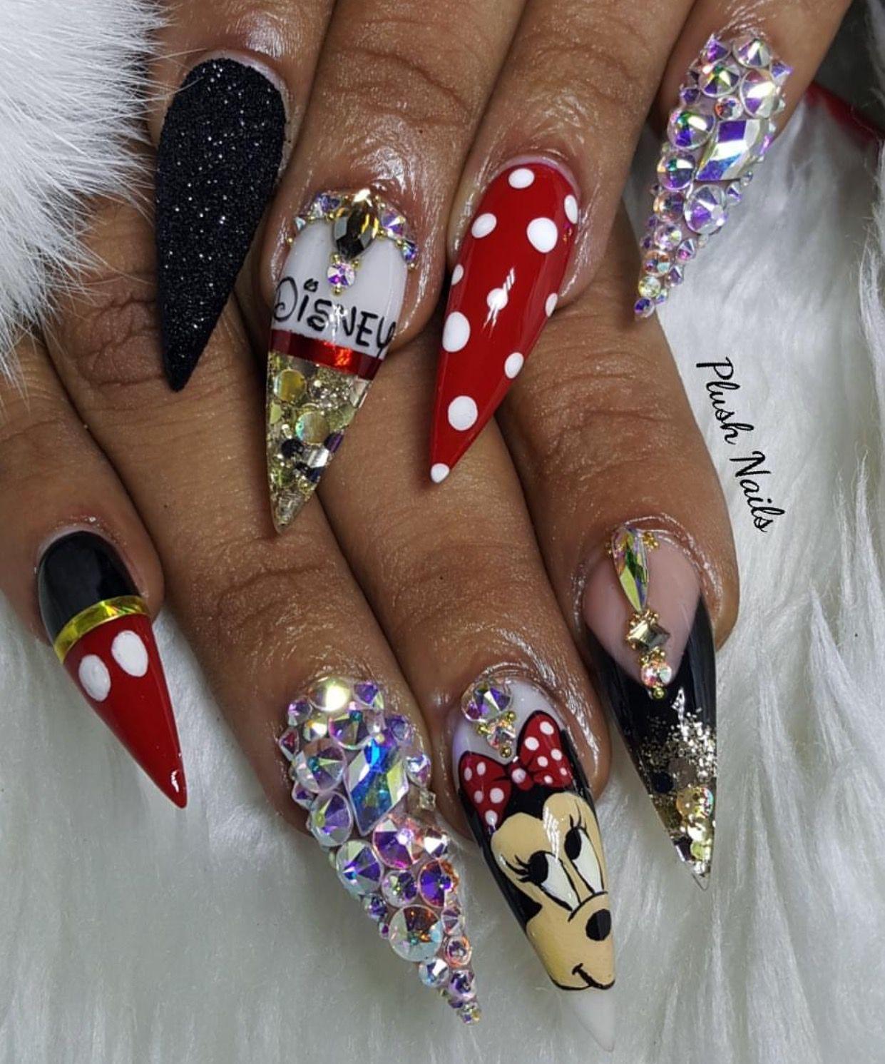 Plushnails| @DaDollhouse | Nails | Pinterest | Uñas lindas ...