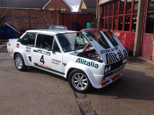 1980 Fiat 131 Sport Abarth Tribute At Aca November 1st For Sale
