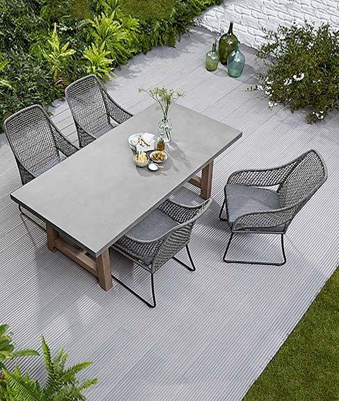 Terrassenmobel Sitzmobel Terrasse Tisch Und Stuhle Fur Die Terrasse Garte In 2020 Terrassen Tische Tisch Und Stuhle Terrassenmobel