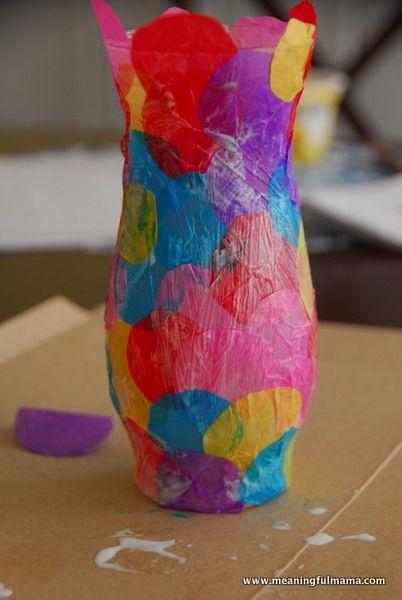 Polka Dot Vase Craft Art Pinterest Craft