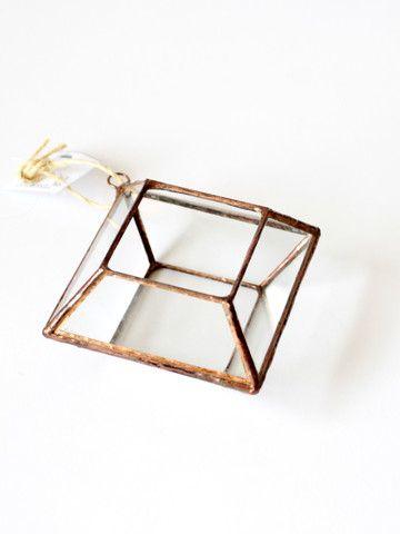 ABJ Glassworks Zephyrus Terrarium - Small