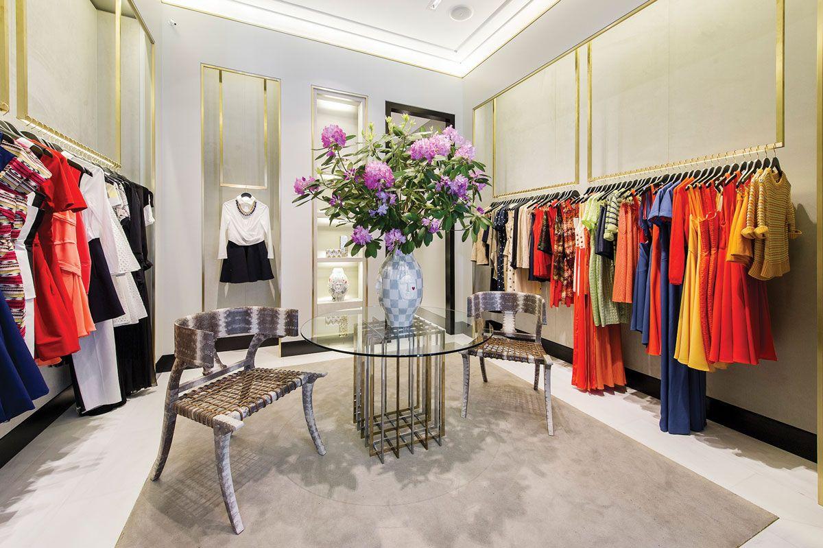 High End Clothing Boutique Boutique interior design