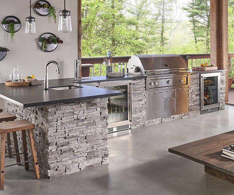 Outdoor Kitchen Materials List