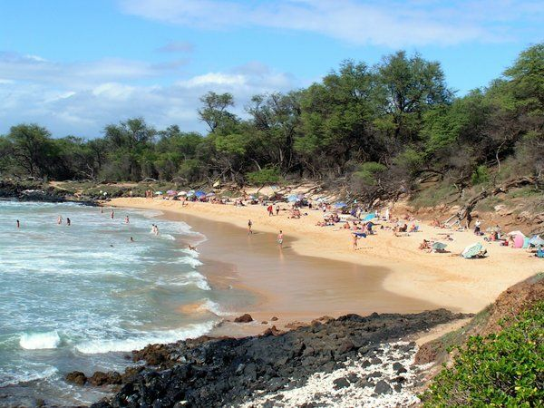 Little Beach - Makena, Maui Hawaii Unofficially A Nudist -8461