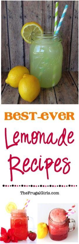 Frozen Strawberry Lemonade Recipe! {4 Ingredient Slush} - The Frugal Girls #strawberrylemonaderecipes