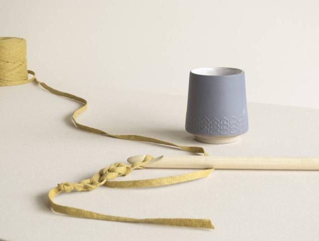 ceramic cups by jurianne matter..