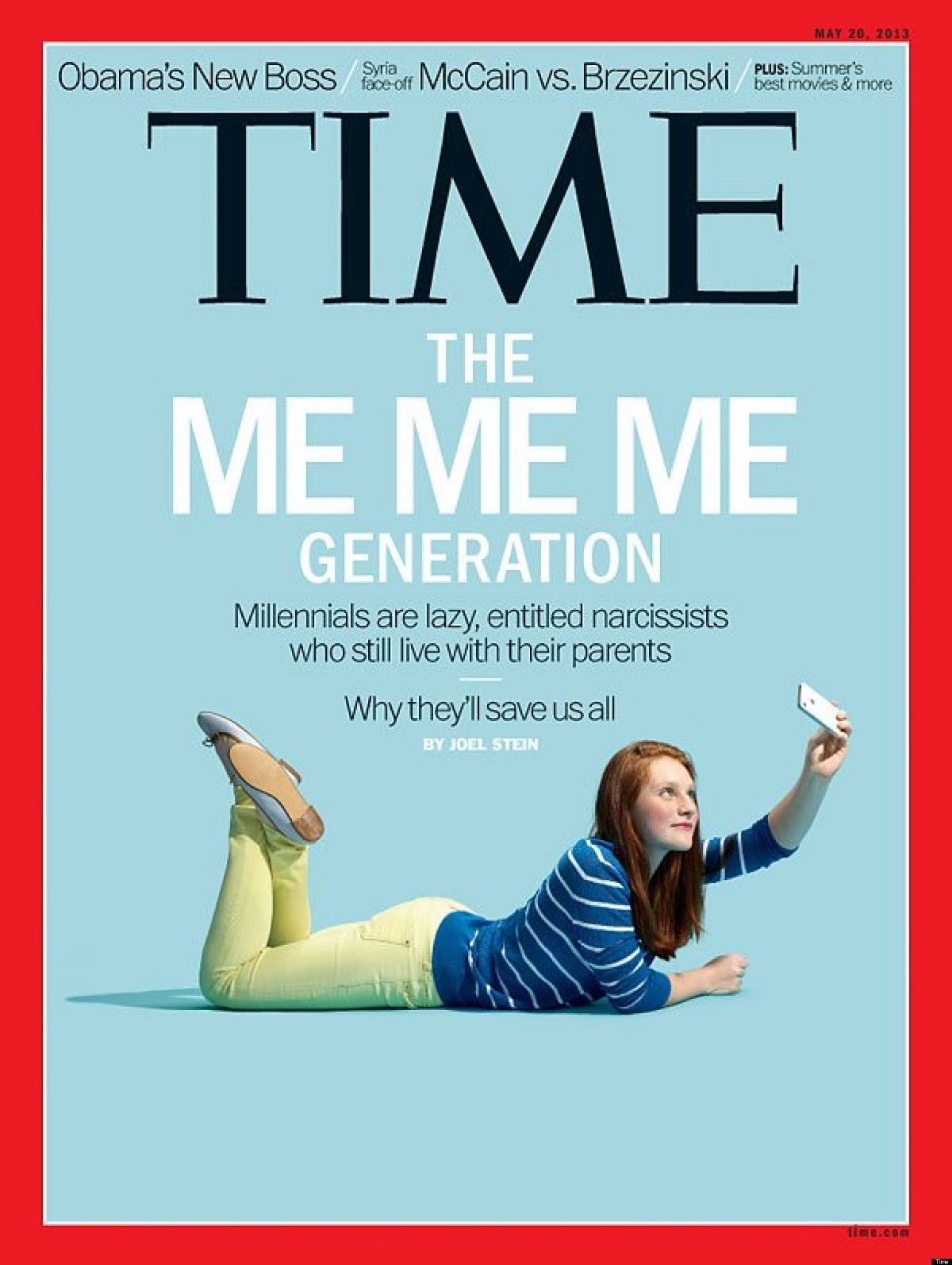 Time magazine sucks