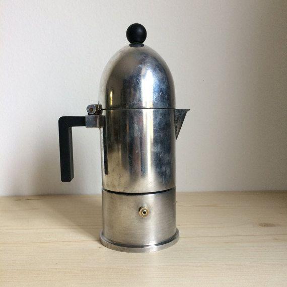 Alessi Italian Coffee Maker : Alessi La Cupola Italian moka pot espresso coffee stovetop maker machine percolator stove top ...