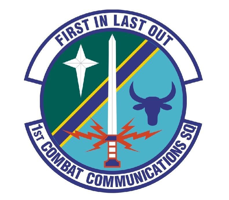 1st Combat Communications Squad Vinyl Decal Sticker Military Armed Forces R466 Combat Communications Vinyl Decal Stickers