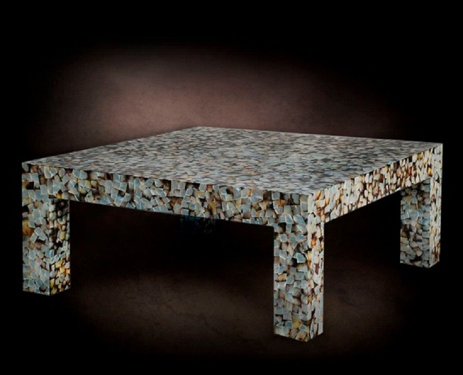 Mother Of Pearl Coffee Table | Stone Smiths