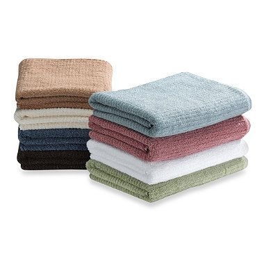 The Dri Soft Towel Collection Features A Unique Weaving That