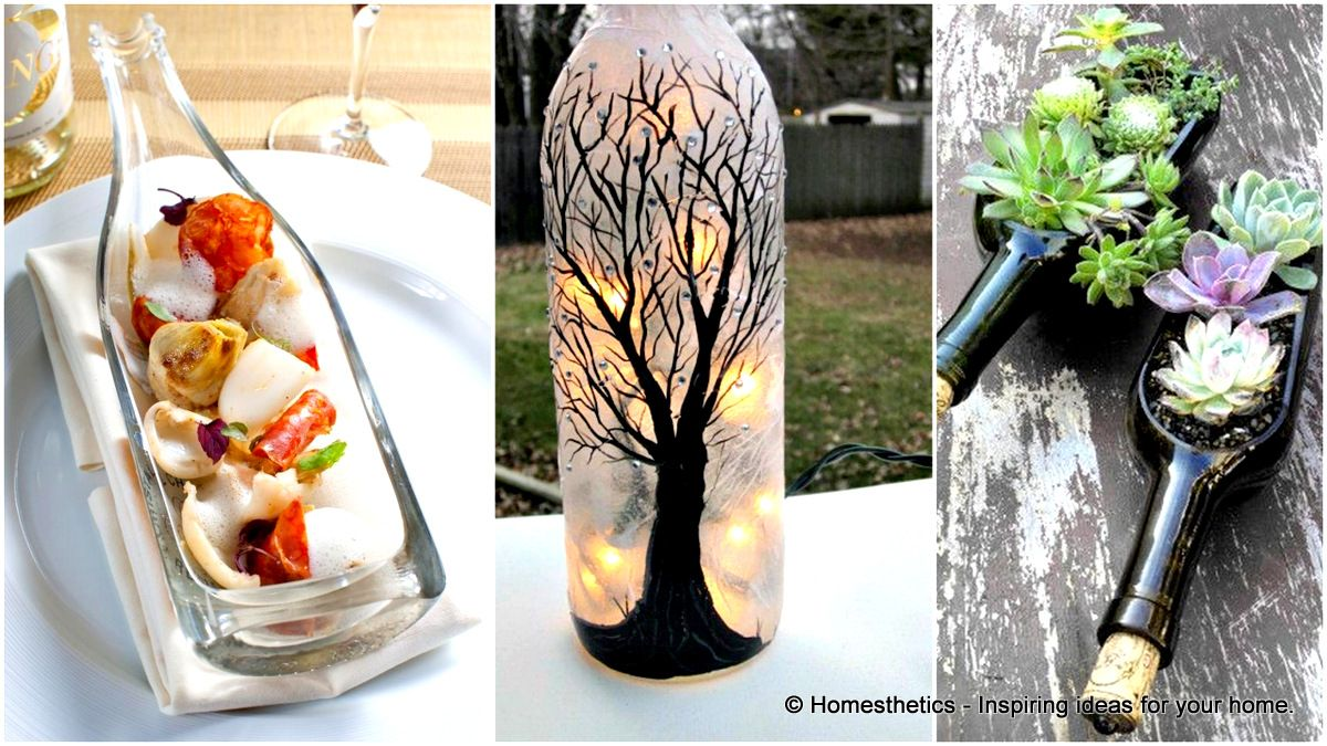 Glass Bottle Decoration Ideas Smart Guide On How To Cut Glass And Diy Wine Bottle Crafts Of
