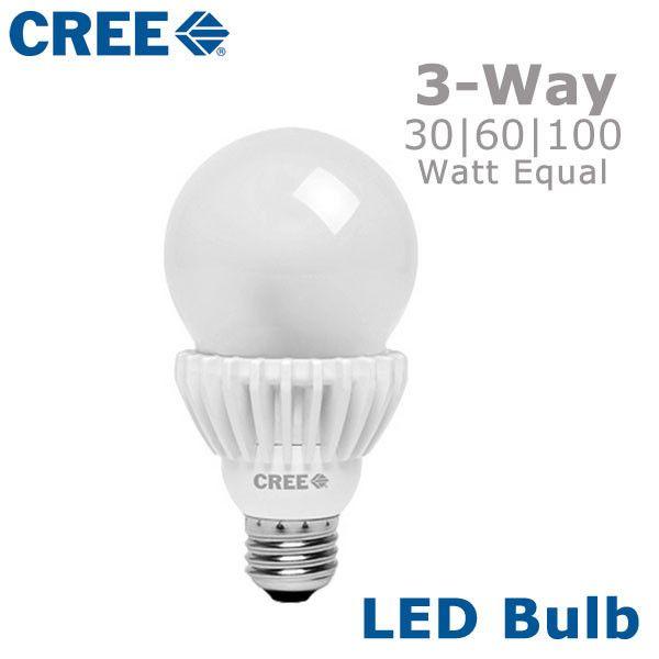 Cree Led 3 Way Bulb 30 60 100 Watt Equal Led Replacement Bulbs