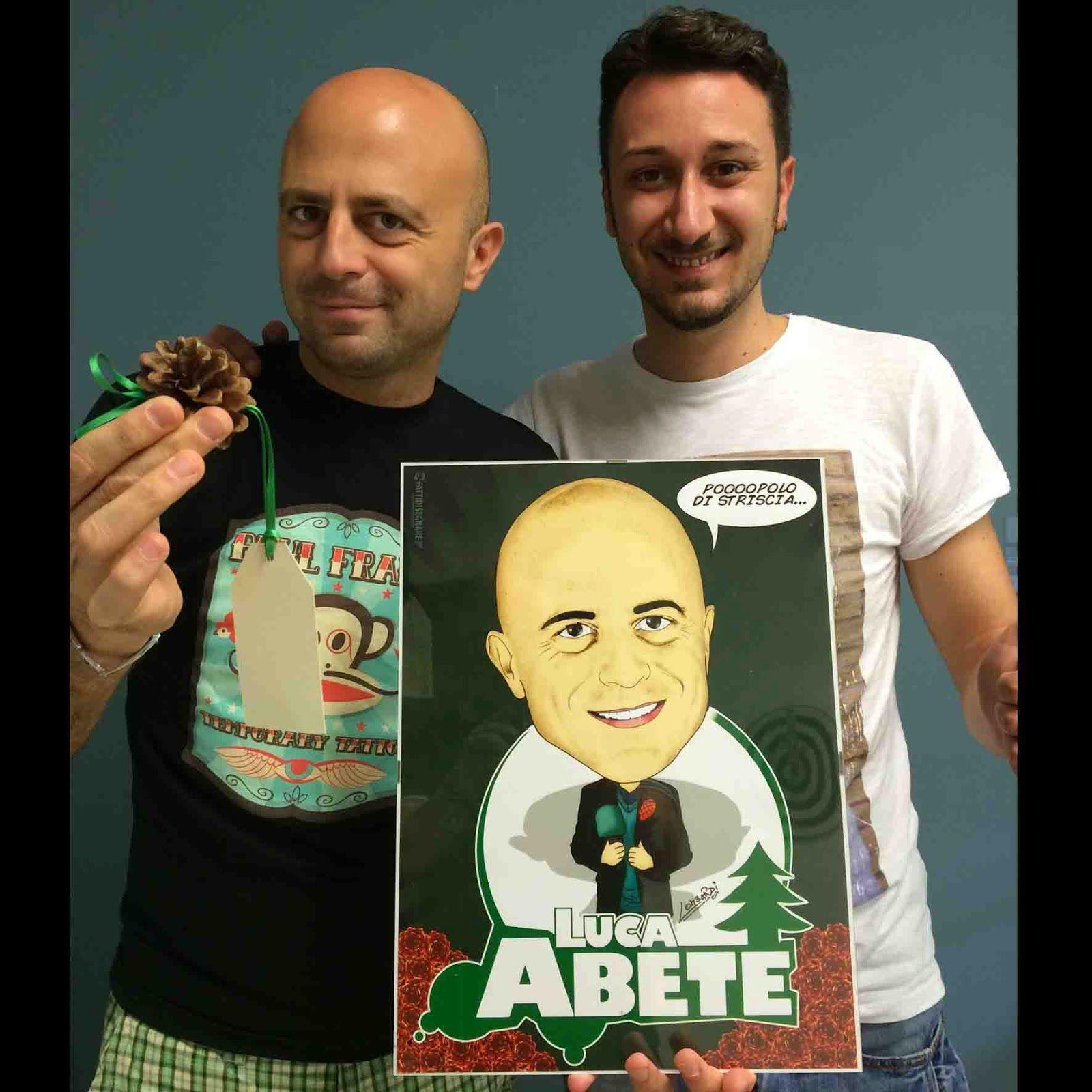 Un Grandissimo #LucaAbete  #striscialanotizia #inviato #Pigna #microfono #verde #Avellino #GiuseppeLombardi #CASERTA #campania #fattidisegnare