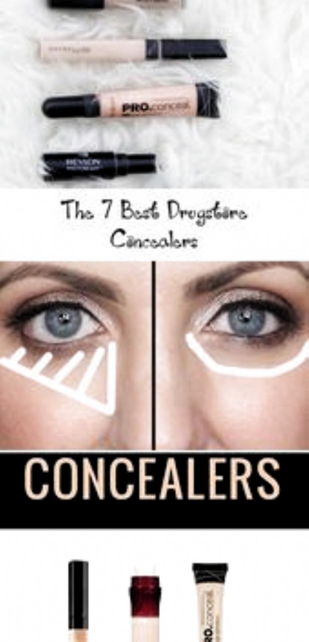 The 7 Best Drugstore Concealers  Eye Makeup   Drugstore Concealers #makeuphack#fashion #style #stylish #love #cute #photooftheday #nails #hair #beauty #beautiful #instagood #pretty #swag #pink #eyes