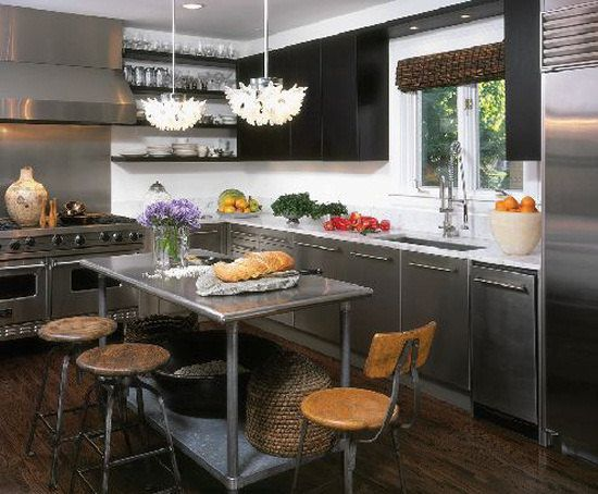 Best 25 Stainless Steel Island Ideas On Pinterest