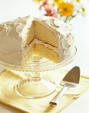 French Vanilla Cake from Scratch - makes a beautiful presentation & tastes even better....