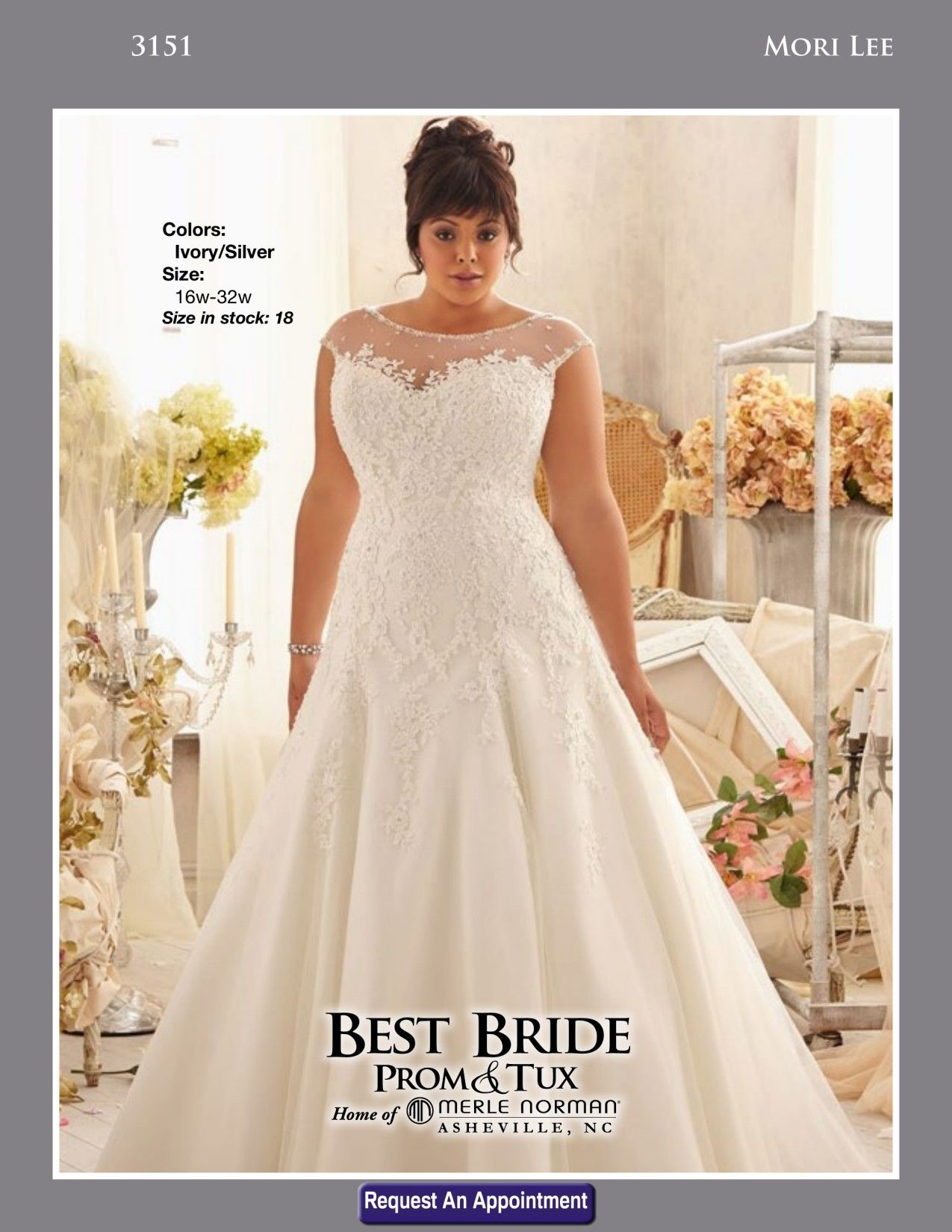 This Morilee Bridal Dress Has Venice Lace Liwues On Net With Crystal Beaded Trim A Bateau Neckline And Natural Waist Julietta Plus Size