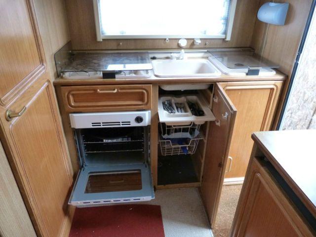 Caravan Kitchen Idea Future Home Ideas Caravan Backyard Camping