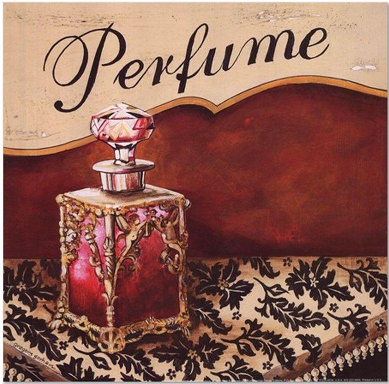 парфюмерия картинки для декупажа