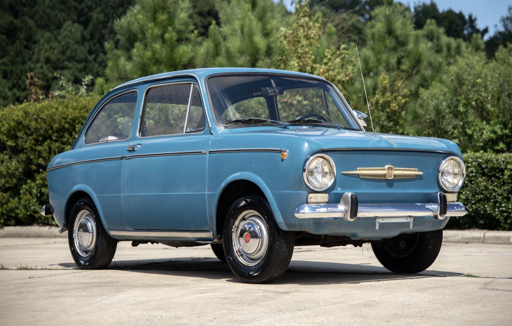 1967 Fiat 850 Vecchie Auto Auto Automobile