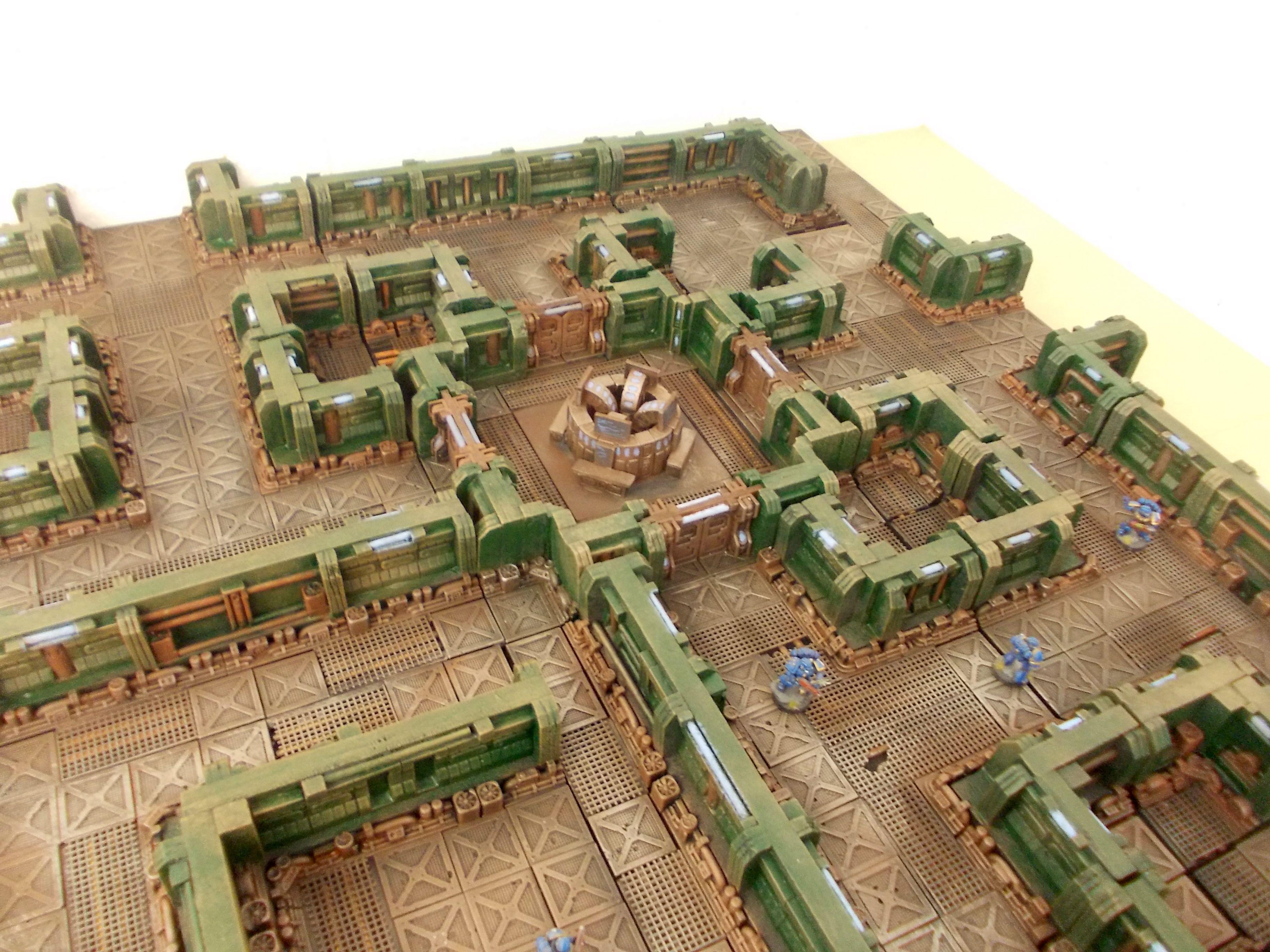 RESIDENTAL DISTRICT /'A/' 28mm Sci-Fi  Warhammer 40 000 Warmachine City Fight