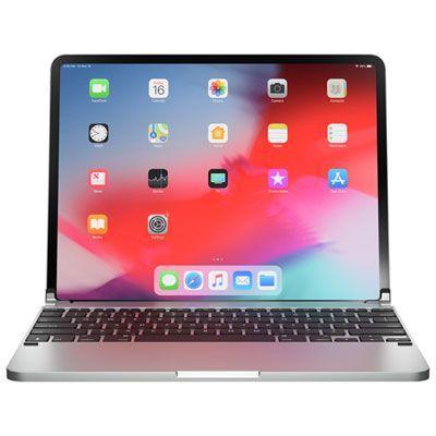 """Brydge Wireless Keyboard for iPad Pro 12.9"""" (2018) - Silver"""