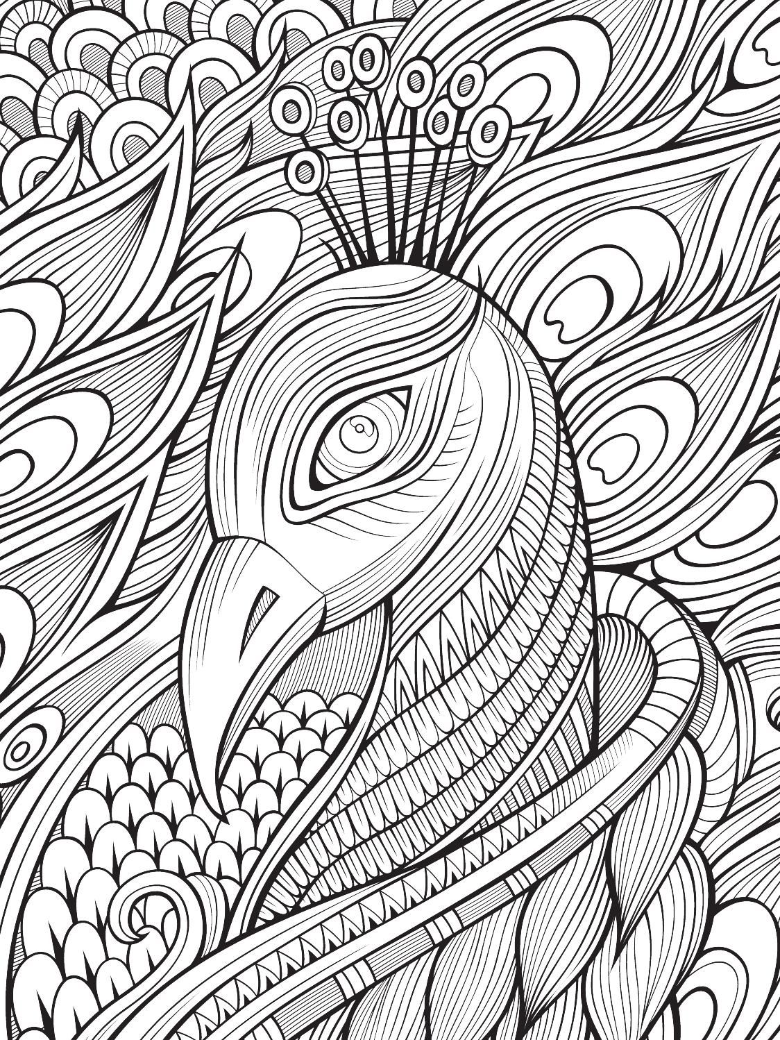 Color Mind Nº2 | Pavo, Colorear y Mandalas