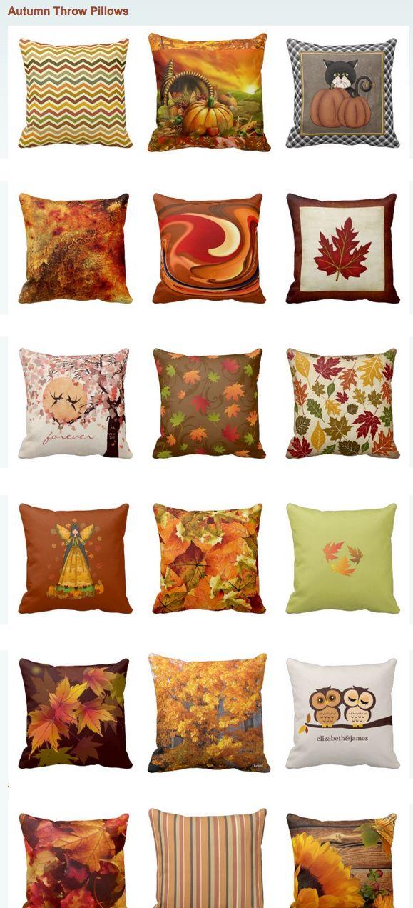 Fall Throw Pillows And Autumn Accent Pillows Fall Pinterest Classy Autumn Decorative Pillows