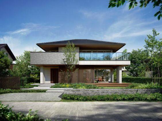 pin von huy nguyen auf roof pinterest moderne h user walmdach und architektur. Black Bedroom Furniture Sets. Home Design Ideas
