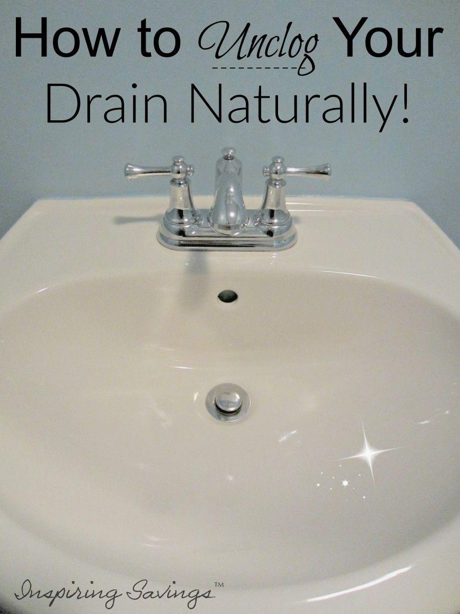 unclog bathroom sinks