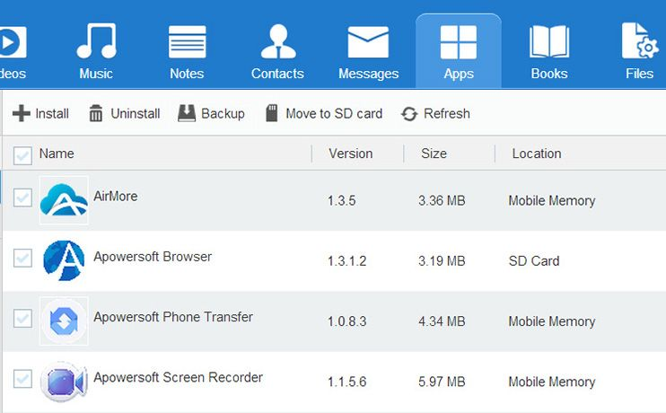ApowerManager Manage, Backup, Restore iOS and Android