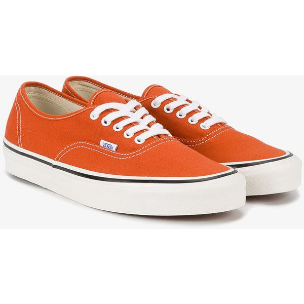 43db2e8159 Vans Orange Authentic 44 Dx Trainers ( 59) ❤ liked on Polyvore featuring  men s fashion