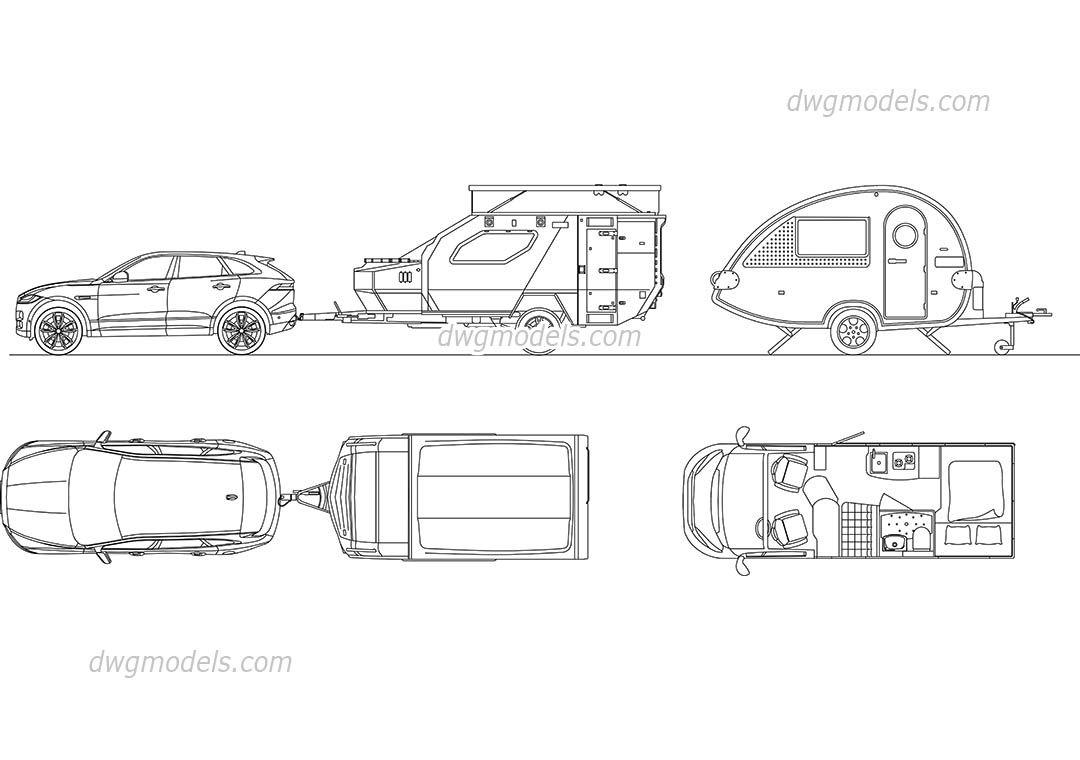 Volkswagen TRoc CAD Blocks free dwg file reference images