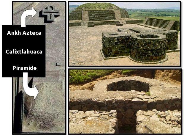 """La croce egizia """"Ankh"""" in un tempio costruito dagli Aztechi in Messico?      Il Navigatore Curioso"""