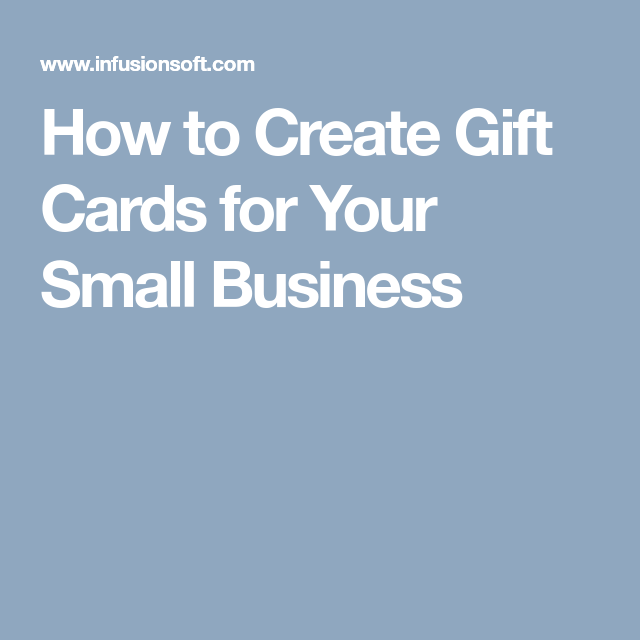 How To Create Gift Cards For Your Small Business How To Thank