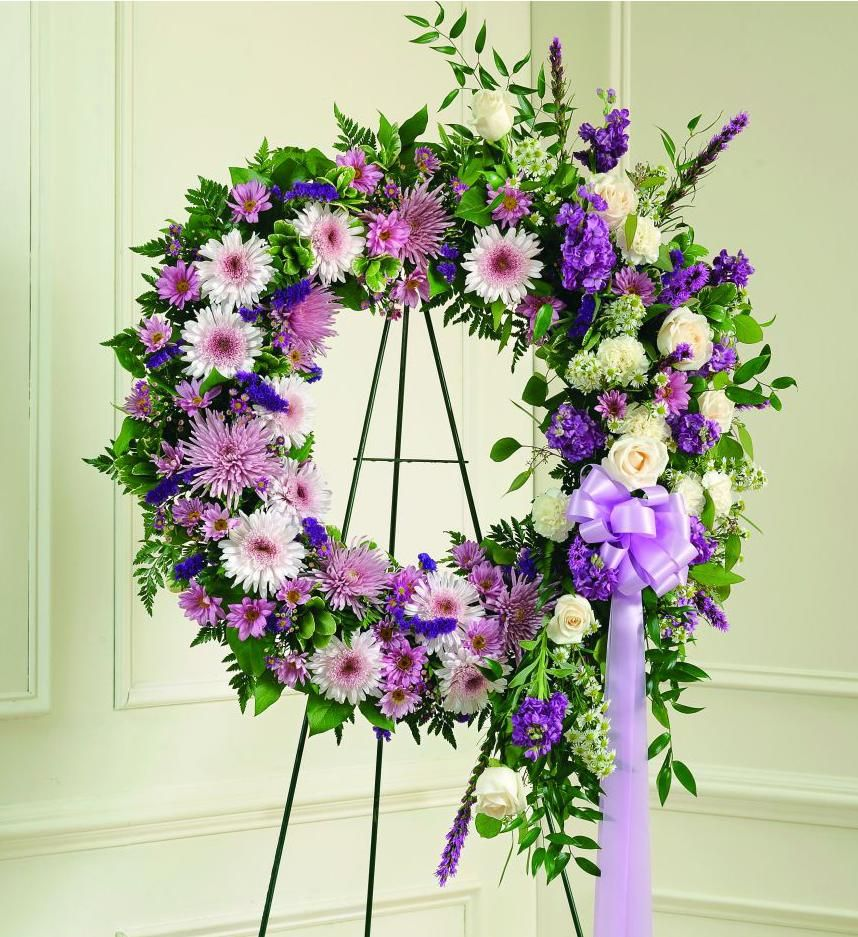 funeral flower arrangements send a sympathy wreath to a funeral home for same day low cost delivery izmirmasajfo Choice Image