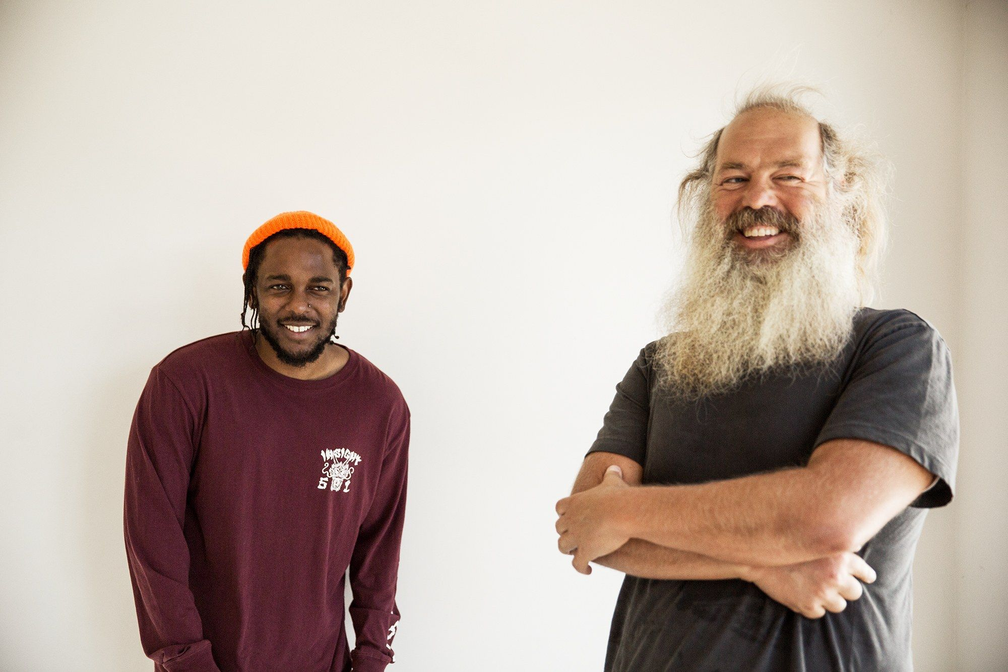 Watch kendrick lamar meet rick rubin to talk about eminemus