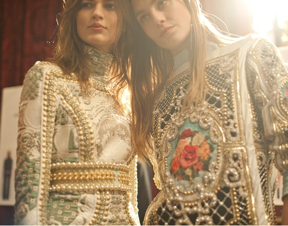 pearl encrusted richness by balmain